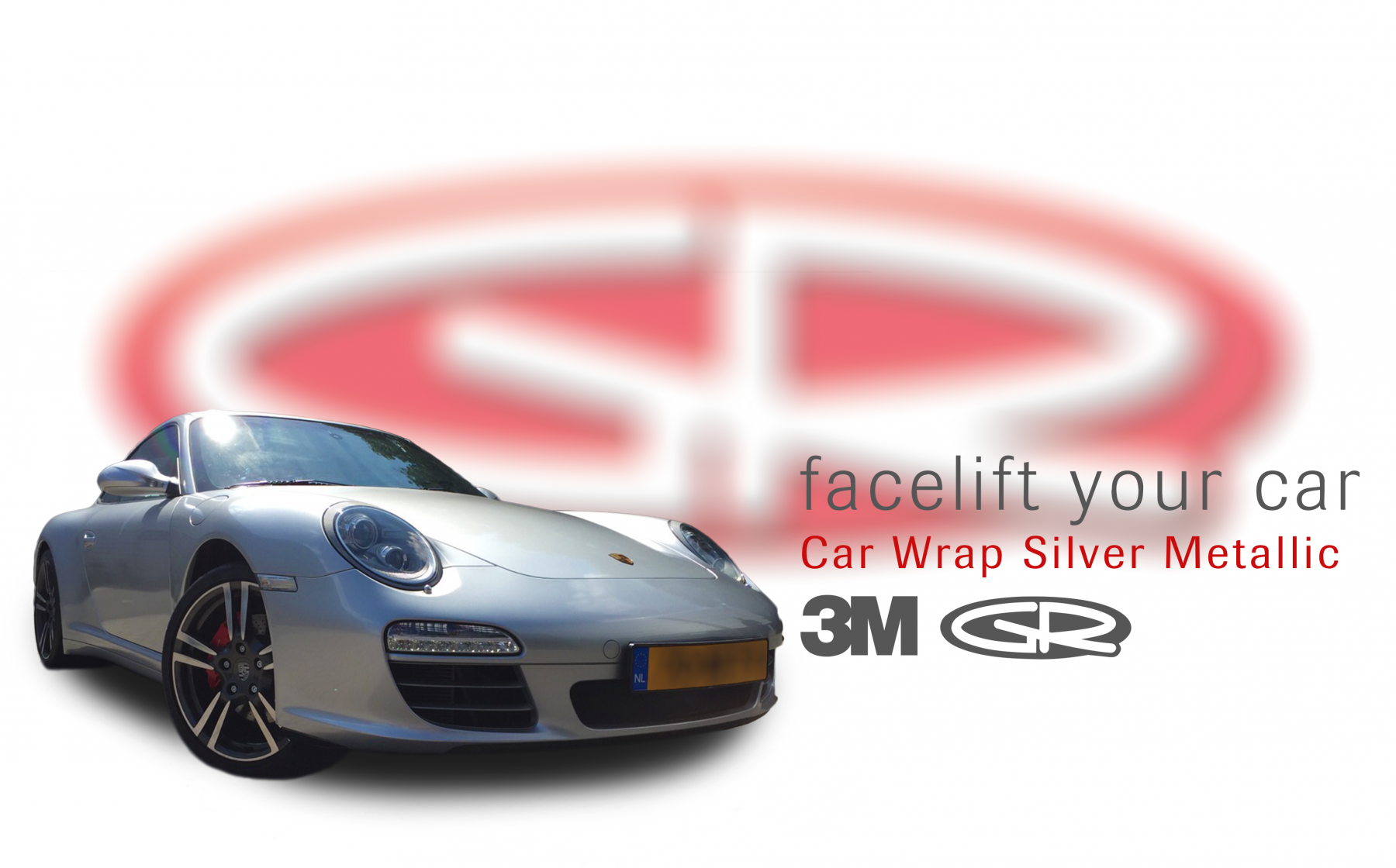 Car Wrap Silver Metallic